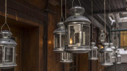 En stor lanterne til et småt hjem